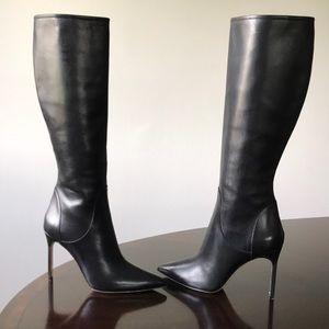 Manolo Blahnik Stilettos Heel 11M Knee hi Boots